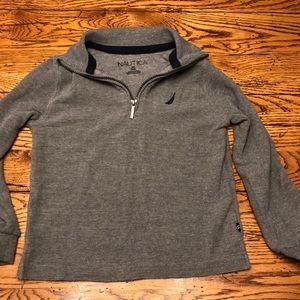 Nautica boys 3/4 zip pullover